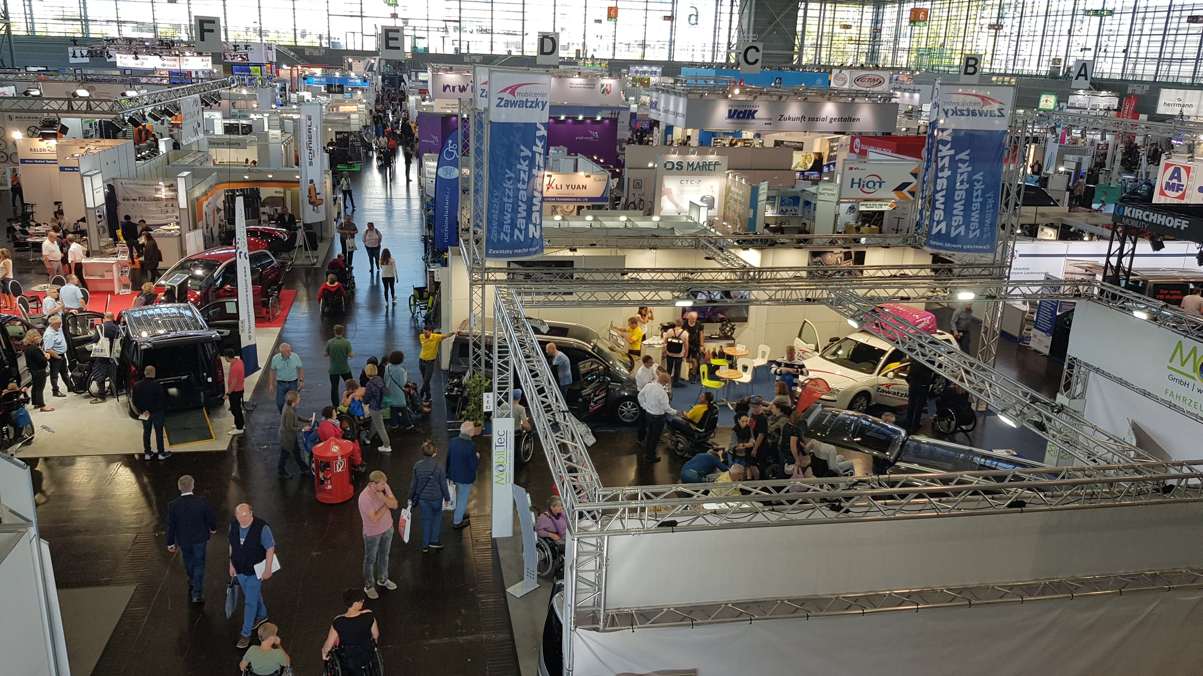 Rehacare Fair in Düssledorf 2019