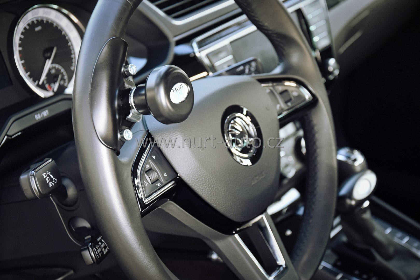 Steering Wheel Spinner Knob CERTIFIED DEVICE